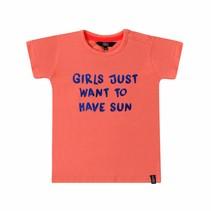 T-shirt sun coral