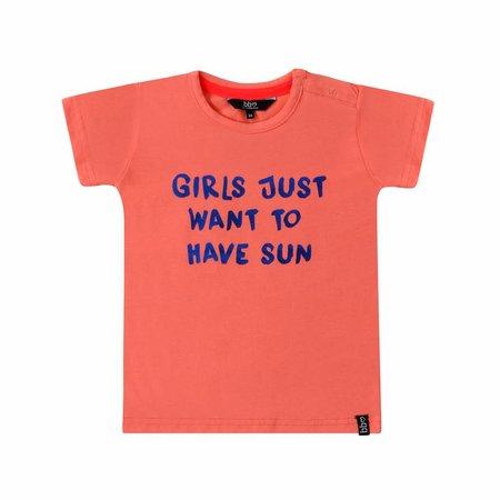 Beebielove Beebielove T-shirt sun coral