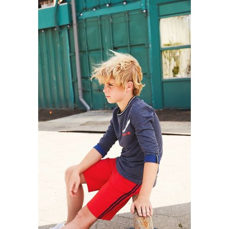 Bellaire Bellaire short Sinne striped side bright red