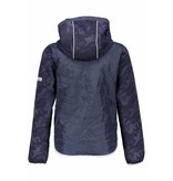 Bellaire Bellaire jas Bassy softshell nylon body with hood navy blazer