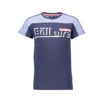 T-shirt KarsB pique toppart navy blazer