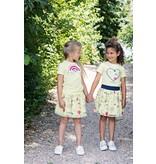 Le Chic Le Chic rokje petticoat love fiesta yellow lemonade