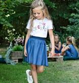 Le Chic Le Chic T-shirt coloured Le Chic tekst white