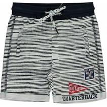 Short Shawn navy stripe