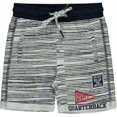 Quapi Quapi short Shawn navy stripe