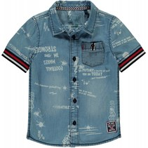 Denim shirt Senon denim text