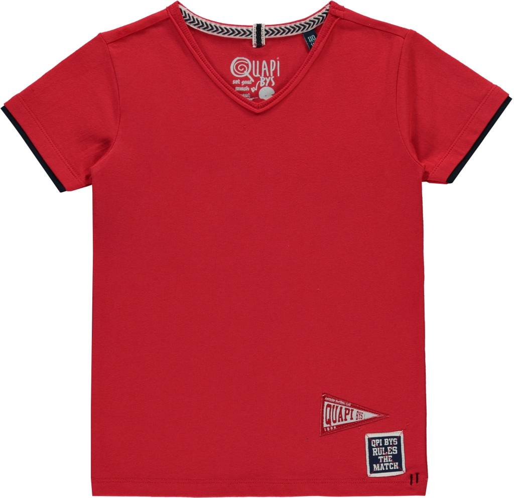 Quapi Quapi T-shirt Salvino red