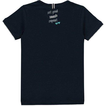 Quapi Quapi T-shirt Salvino navy