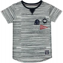 T-shirt Saim navy stripe