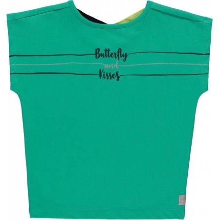 Quapi Quapi T-shirt Susanne sporty green