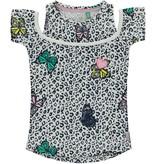 Quapi Quapi T-shirt Sunshine multi butterfly