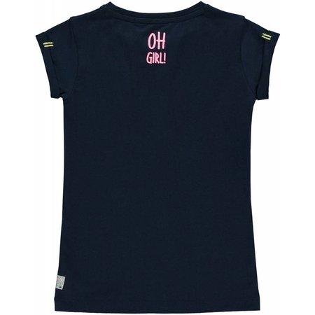 Quapi Quapi T-shirt Sunayana navy