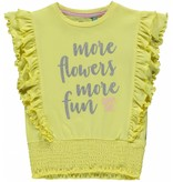 Quapi Quapi T-shirt Summer soft yellow
