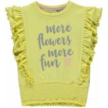 T-shirt Summer soft yellow