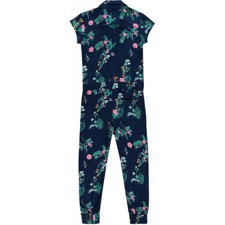 Quapi Quapi jumpsuit Sue navy flower