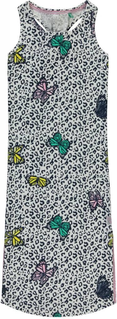 Quapi Quapi jurk Solaine multi butterfly