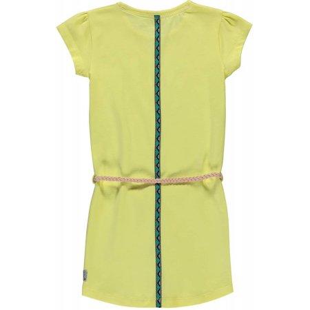 Quapi Quapi jurk Saar 3 soft yellow