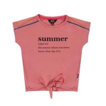 T-shirt summer pink