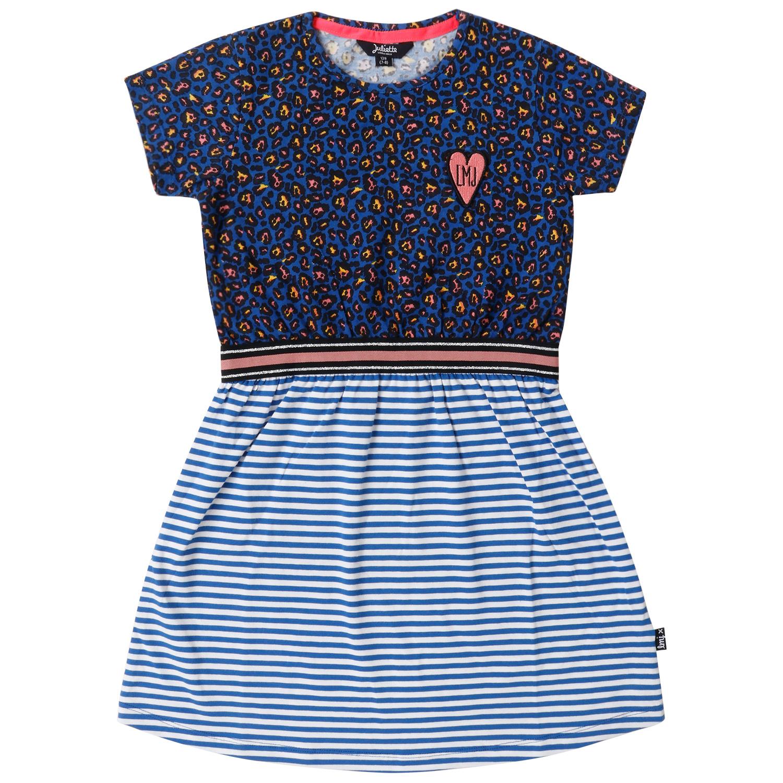 Little Miss Juliette Little Miss Juliette jurk sweat blue