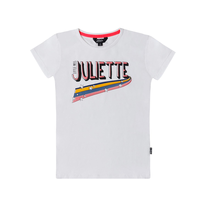 Little Miss Juliette Little Miss Juliette T-shirt Juliette white