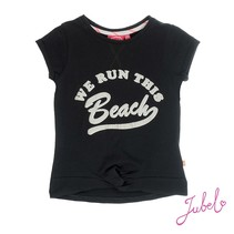 T-shirt beach la isla zwart