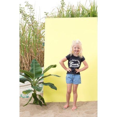 Jubel Jubel T-shirt beach la isla zwart