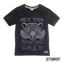 T-shirt hey you sunray antraciet