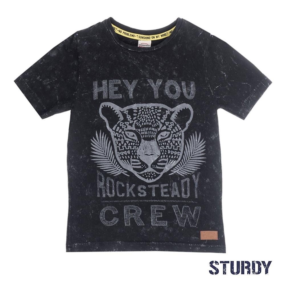 Sturdy Sturdy T-shirt hey you sunray antraciet