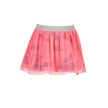 Rok with netting plissee candy