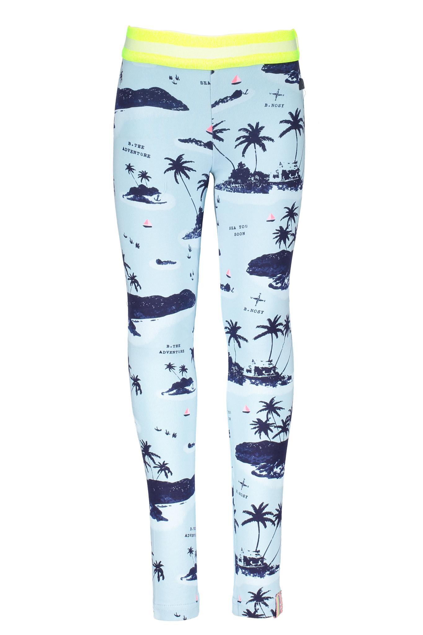 B.Nosy B.Nosy legging aloha blue ao skydelight