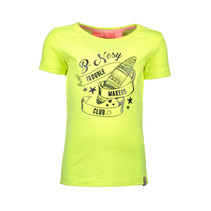 T-shirt surf electric yellow