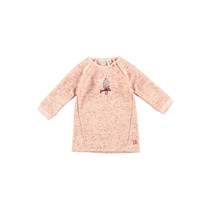 Jurkje sweat light pink melee