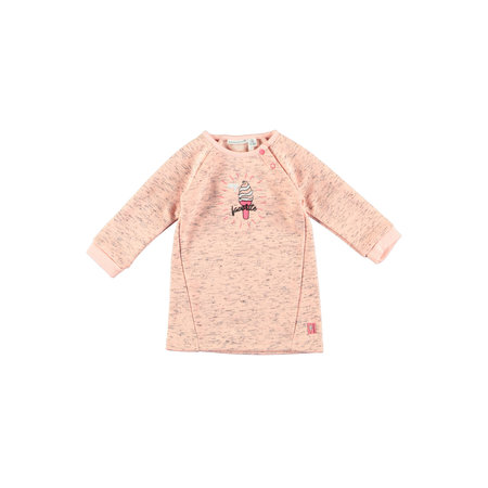 Bampidano Bampidano jurkje sweat light pink melee