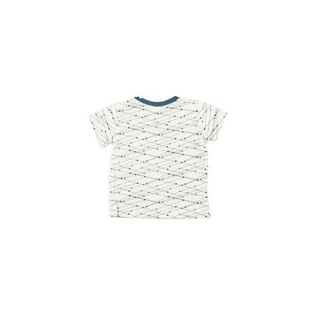 Bampidano Bampidano T-shirt boys graphic allover print v-neck
