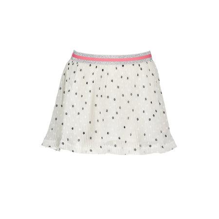 Bampidano Bampidano rok woven dots white