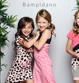 Bampidano Bampidano T-shirt multi color block dark pink