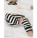 Bampidano Bampidano broekje slim y/d stripe black/white