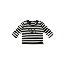 Longsleeve y/d stripe black/white