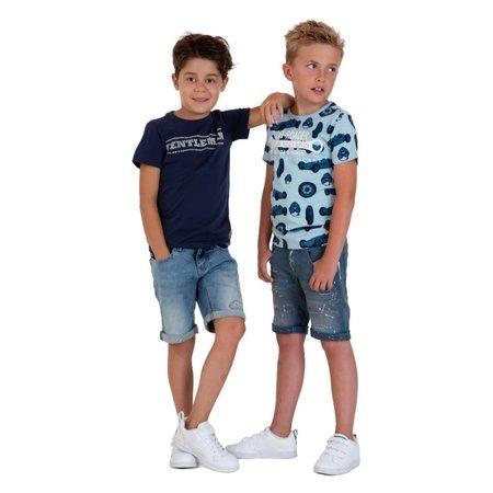 SKURK SKURK T-shirt Torce navy