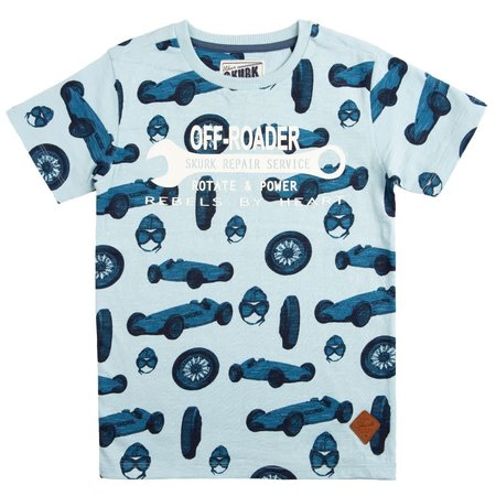SKURK SKURK T-shirt Tace light blue
