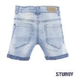 Sturdy Sturdy short licht blauw denim