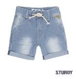 Sturdy Sturdy short streep indigo