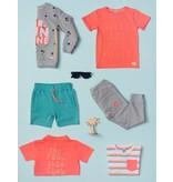 Sturdy Sturdy T-shirt rules pool party neon oranje