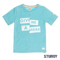 T-shirt give me a break pool party mint