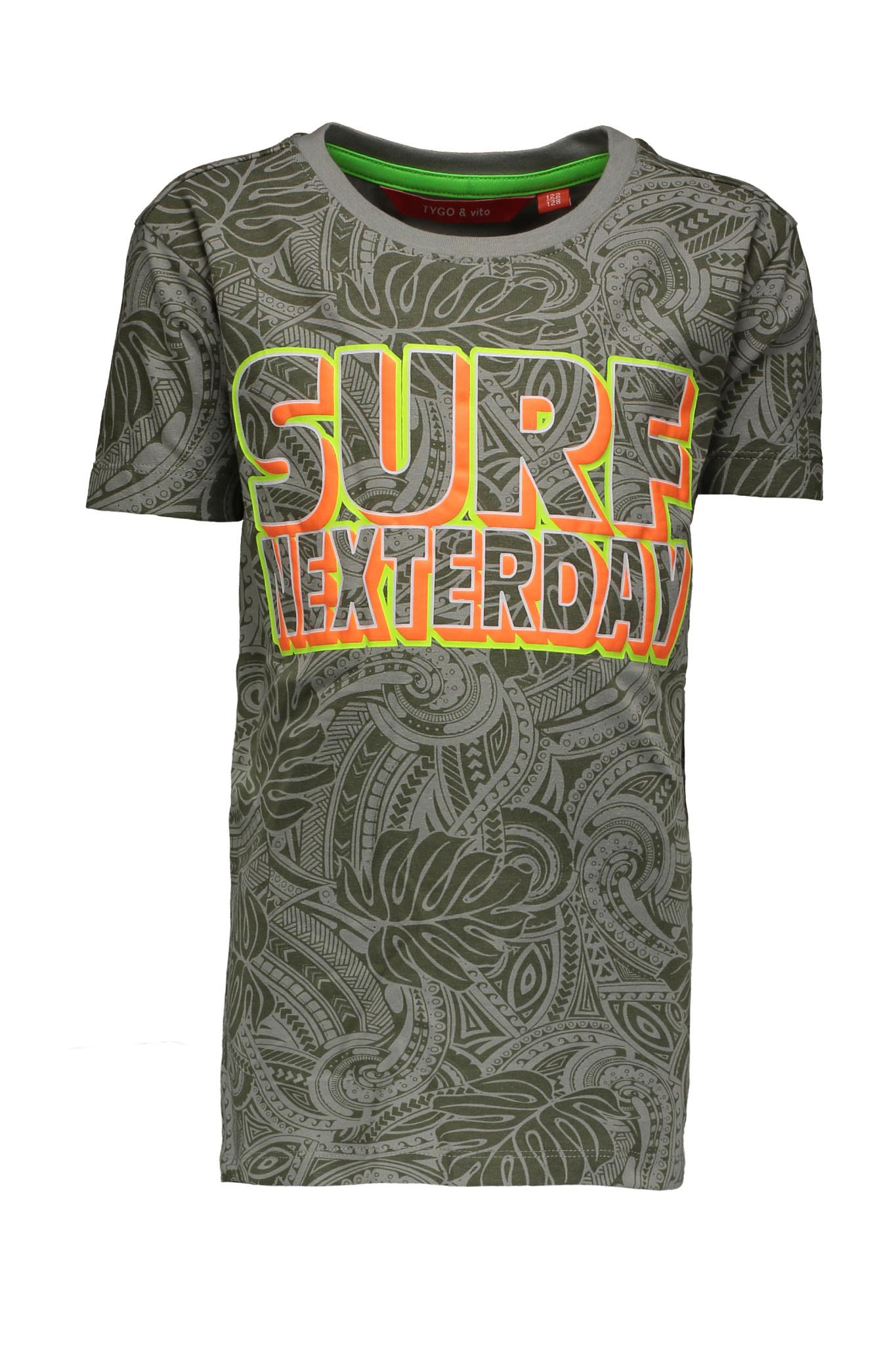 TYGO&vito TYGO&vito T-shirt aop surf nexterday army