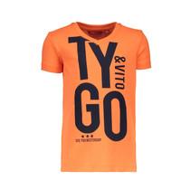 T-shirt TYGO&vito shocking orange