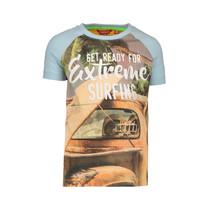 T-shirt photoprint surfing orange