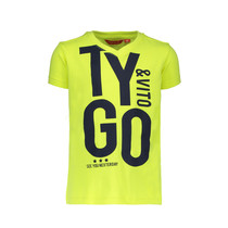 T-shirt neon TYGO&vito safety yellow