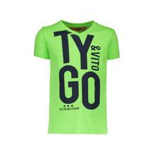 T-shirt neon TYGO&vito green gecko