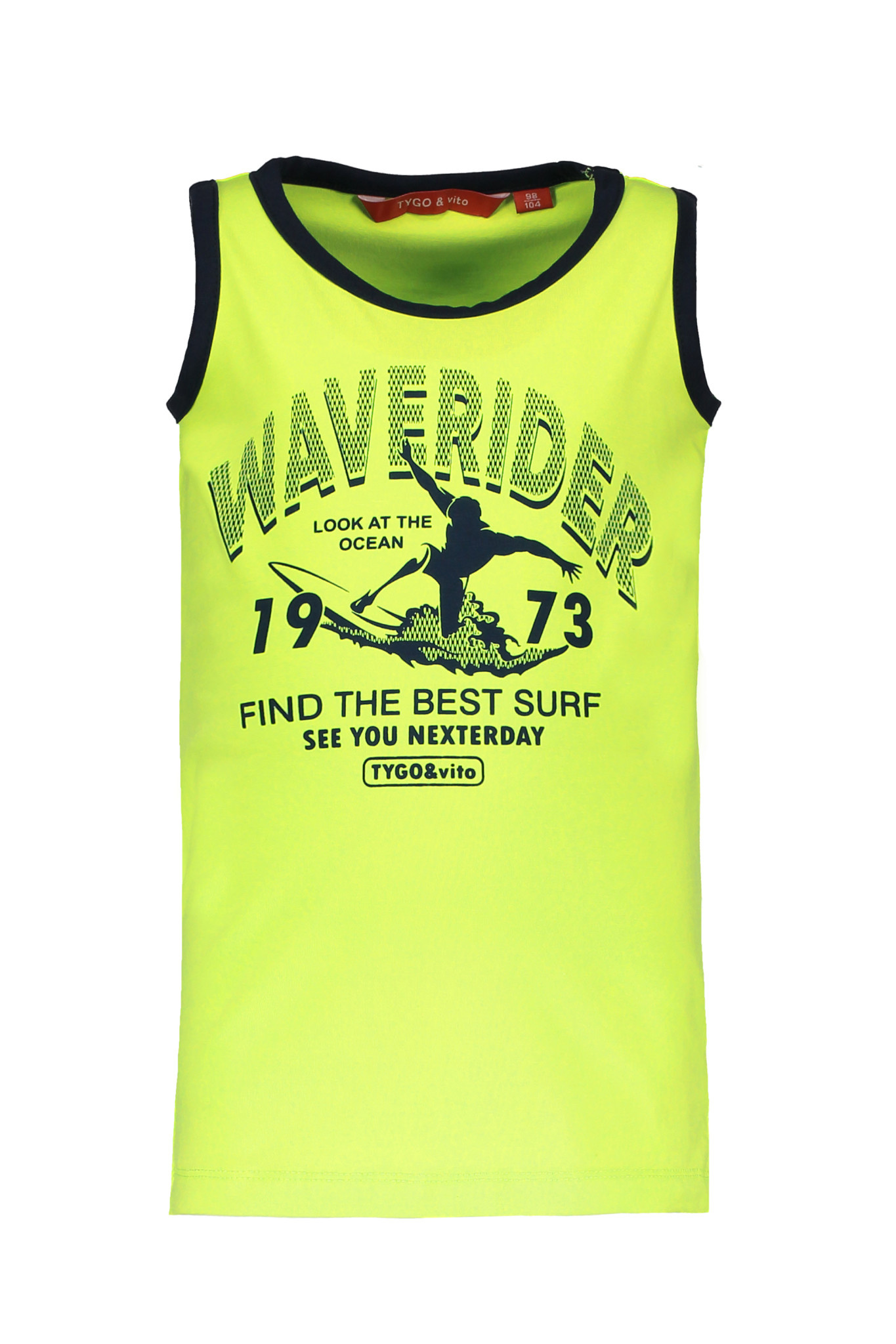TYGO&vito TYGO&vito tanktop neon waverider safety yellow
